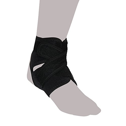 - Leap Future Sports Ankle Brace Stabilizer Support Stays - Breathable Compression