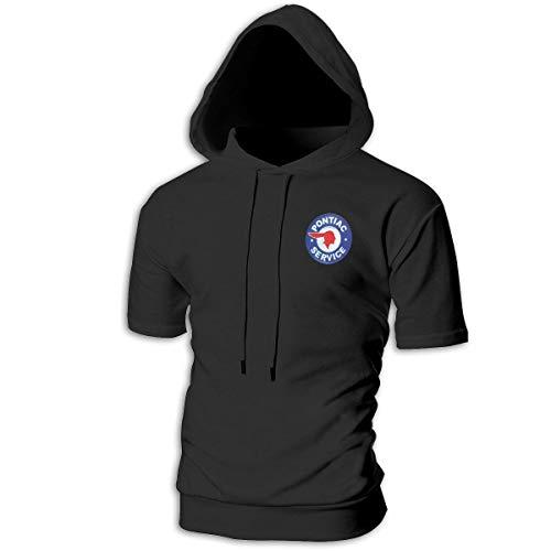 Grand Prix Hooded Sweatshirt - SHENGN Custom Men's Hooded Classic General Motors Pontiac Logo Sweater Black