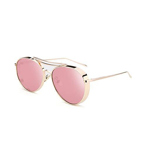 de rétro Barbie étoile Générique coréen Powder Couple Powder Soleil Lunettes Nouveau Sunglasses Couleur Soleil Barbie Femme Rouge marée de Lunettes Net xwIv6wC