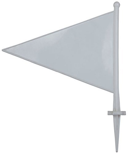 Kookaburra Cricket Sports Ground Accessories Boundary Flags/markers Pack Of 25 by Kookaburra by Kookaburra