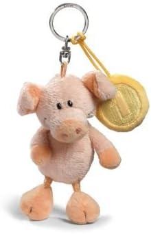 Nici 31693 Schwein Mit Cent 10 Cm Bean Bag Schlüsselanhänger Spielzeug