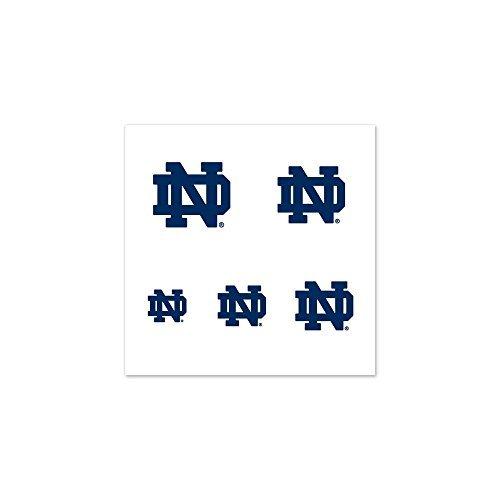 NCAA Notre Dame 90436010 Fingernail Tattoos