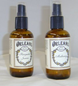 One Bottle Ambre' Lavender Scented Orleans Home Fragrances Room Spray