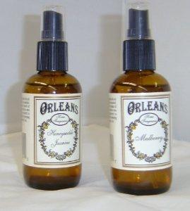 - One Bottle Ambre' Lavender Scented Orleans Home Fragrances Room Spray