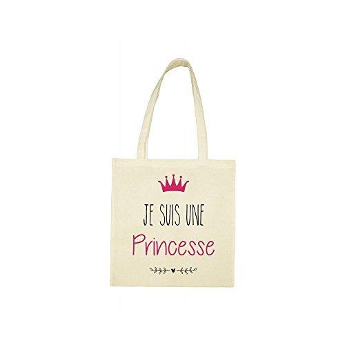 princesse une bag Tote suis je beige UqwS1