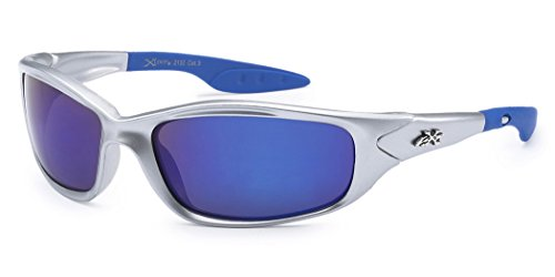 Kids K20 Sunglasses UV400 Rated Ages 3-10 (Silver Blue, - Sunglasses Boys