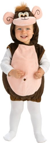Rubie's Deluxe Baby Monkeyin' Around Costume - Toddler (1-2 -