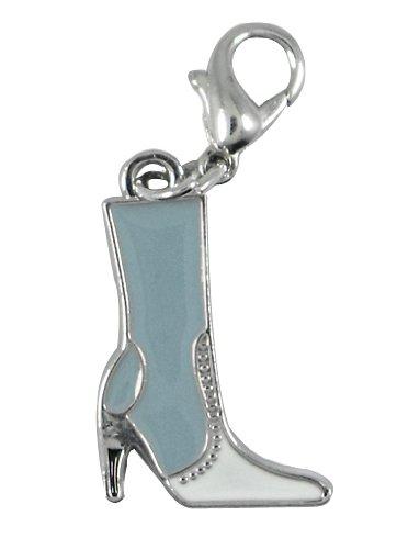 Bleu Charm bottes de la marque Charming Charms