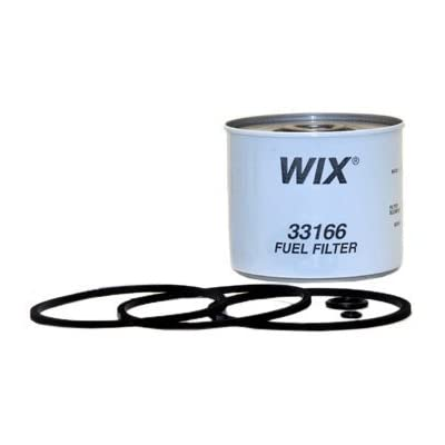 WIX Filters - 33166 Heavy Duty Cartridge Fuel Metal Canister, Pack of 1: Automotive