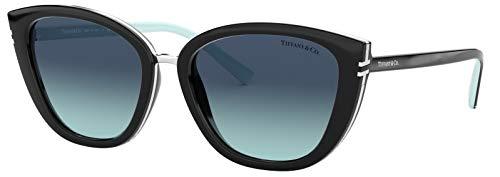 Tiffany & Co. TF 4152 Blue Gradient Cat-Eye Sunglasses for Women ()