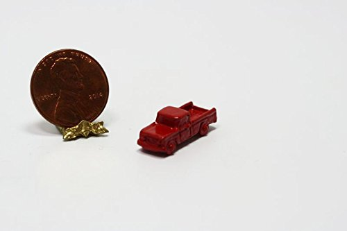 Dollhouse Miniature Pickup Truck in Red by Multi Minis