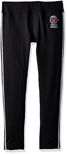 GIII For Her NBA Toronto Raptors Women's Warm Up Leggings, X-Large, Black
