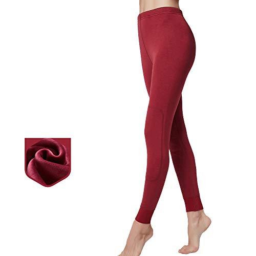 Thermique Minimum Rouge Au De La Pantalon Brique Épaissie Automne Est Velours Patches Hiver Femme Rotule nwH784O