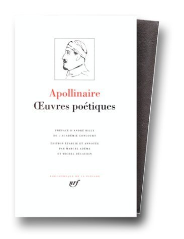 Oeuvres Poetiques (French Edition) by Apollinaire, Guillaume (1956) Leather (Guillaume Leather)