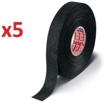 amazon com pinstriping tape trim automotive tape, striping kits Volkswagen Type 3 Wiring Harness tesa 51608, 15m x 19mm adhesive wiring loom cloth tape original isoband 5 pcs pack