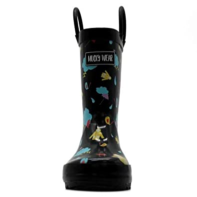Mucky Wear All-Weather Neoprene Kids Mud Boots for Kids with Fun Designs