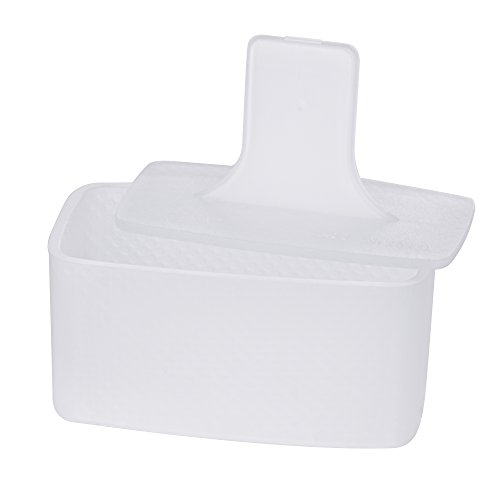 Non Stick Spam Musubi Maker by gabo, Press Mold, Certifed Safety, None Toxic, BPA Free, FDA Approved (White)