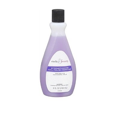Studio 35 Beauty Salon Formula Strengthening Nail Polish Remover 8 Ounces by Studio 10