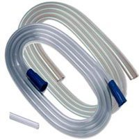 (PT# 8888301606 Tube Suction Connecting Argyle Pvc 6mmx6' Sterile LF ClEar 50/Ca by, Kendall Company)