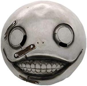 Automata Emil Mask Costume Helmet Halloween Cosplay Props Latex Full Face NieR