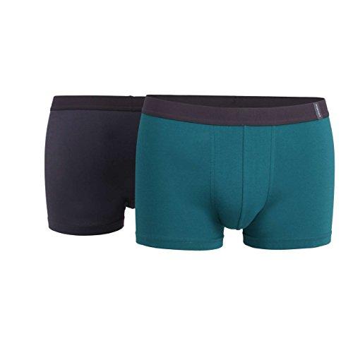 Ceceba Herren Pants grün Uni 2er Pack