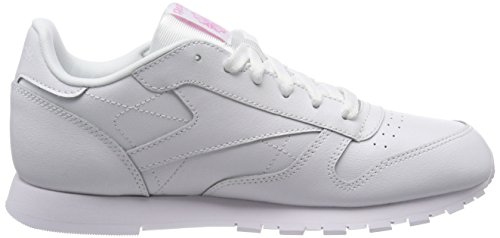 Para Zapatillas bianco De Niñas Blanco Running Reebok Classic x61wq6v