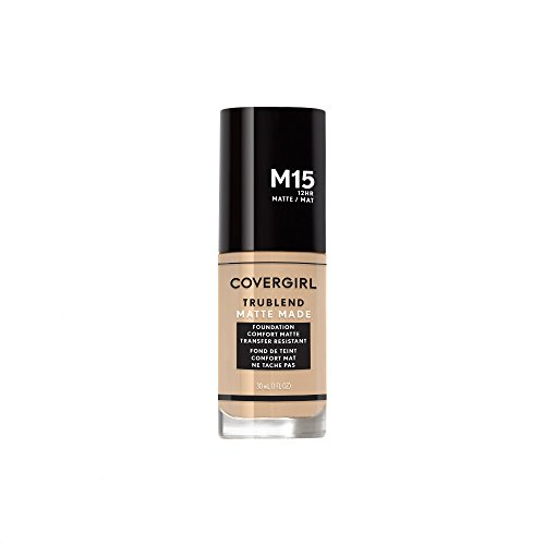 Covergirl Trublend Matte Made Liquid Foundation, M15 Buff Beige, 1.014 Ounce