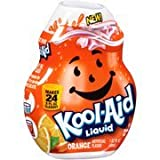 Kool-Aid Orange Liquid Drink Mix, 1.62 fl oz(Case of 2)