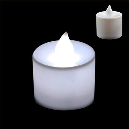 Nueva luz de la vela blanca LED creativa, luz de las velas ...
