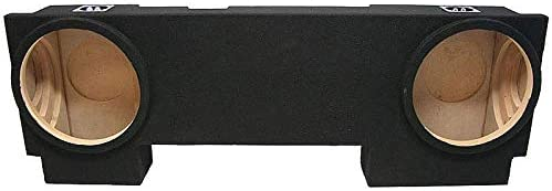 Compatible with 2002-2013 Chevy Avalanche Underseat Kicker Comp C12 Dual 12 Sub Box Enclosure New Final 2 Ohm