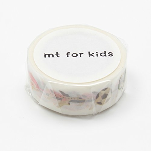 MT Washi Masking Tape for Kids, Work Tools, 15mm x 7m (MT01KID017)