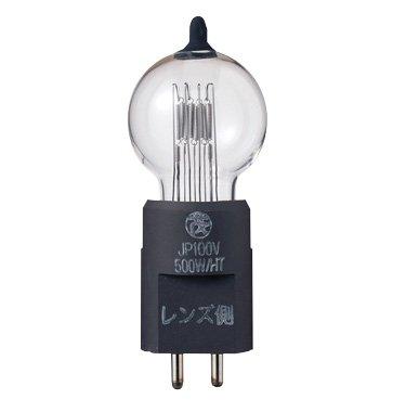 JP 100V500W/HT-2 ハロゲンランプ 丸茂電機 舞台照明器具 JP100V500W/HT-2 ハロゲン球   B076RC94C4