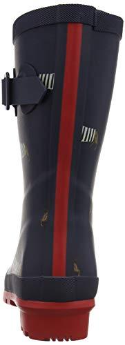 Mollywelly Donna Gomma Joule Navy Dachshund Blau Stivali di Tom Fnvdach French 4Fqw5