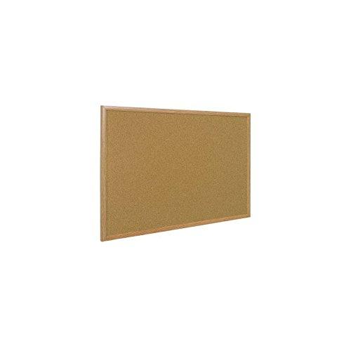 Lavagna bacheca sughero 40x60 cornice in legno naturale pannello in sughero Agendepoint.it