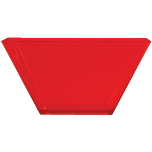 red bowls plastic - 6