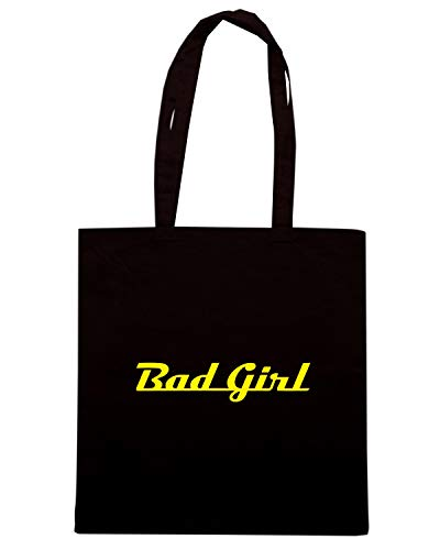 Speed Shirt Borsa Shopper Nera FUN0675 BAD GIRL CAR 09958