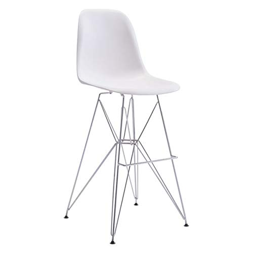 - Zuo Zip Bar Chair, White