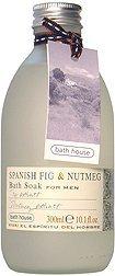 Bath House Spanish Fig & Nutmeg Bath Soak for Men, 10.0 Oz ()