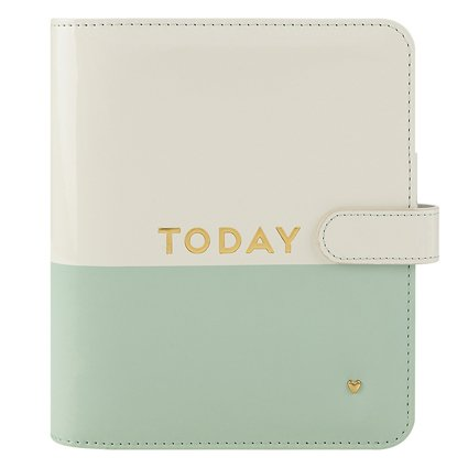 Compact Planner Love Simulated Leather Magnetic Strap - (Compact Simulated Leather)