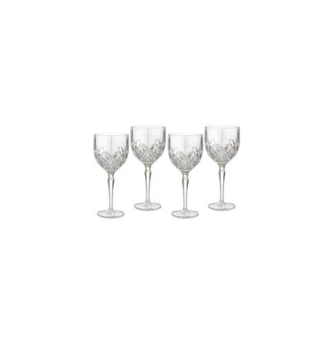 (Marquis by Waterford Brookside All Purpose Wine Glass, Set of 4)