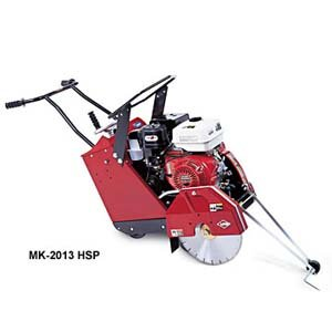 MK-2013HSP 16 inch Concrete Saw - self propelled