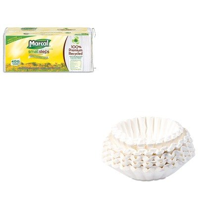 KITBUN1M5002MRC6506 - Value Kit - Bunn Coffee Commercial Coffee Filters (BUN1M5002) and Marcal 100% Premium Recycled Luncheon Napkins (MRC6506) by Unknown