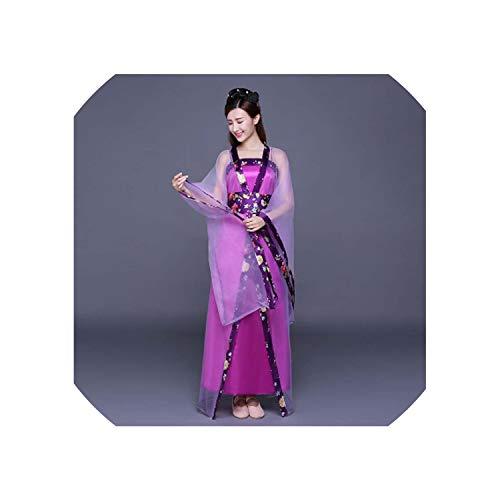 Chinese Folk Dance Fan Dress Clothing Oriental