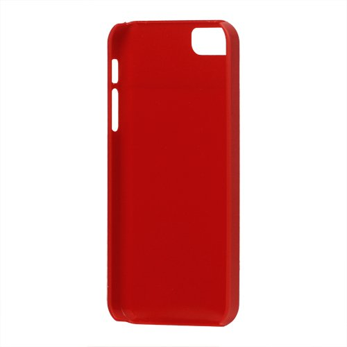 iProtect TPU Gel Schutzhülle iPhone 5 / 5S Soft Case glossy rot