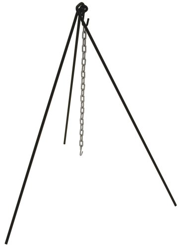 Bayou Classic 7485, Tripod Stand with Chain and Bag