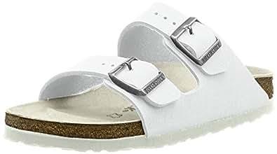 Birkenstock Australia Women's Arizona Sandals, White, 42 EU