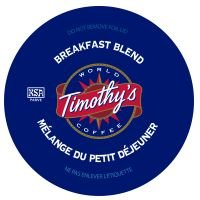 Timothy's World Coffee Breakfast Blend for Keurig Brewers 24 K-Cups (4 (Timothys Breakfast Blend Coffee)