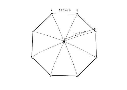 Kundenspezifischer faltbarer Umbrella Diy personifizierter Rosa Nelke Entwurfs-beweglicher Reise-Regenschirm f¨¹r Sonne und Regen E N8lJUL