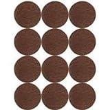 Mintcraft FE-50220 7/8-Inch Light Duty Felt Pads, Brown by Mintcraft