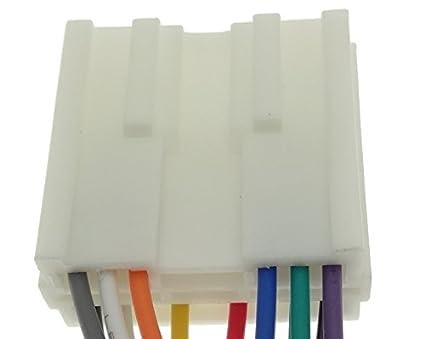MITSUBISHI (2) Radioadapter Kabel Stecker Adapter ISO Anschlusskabel ...